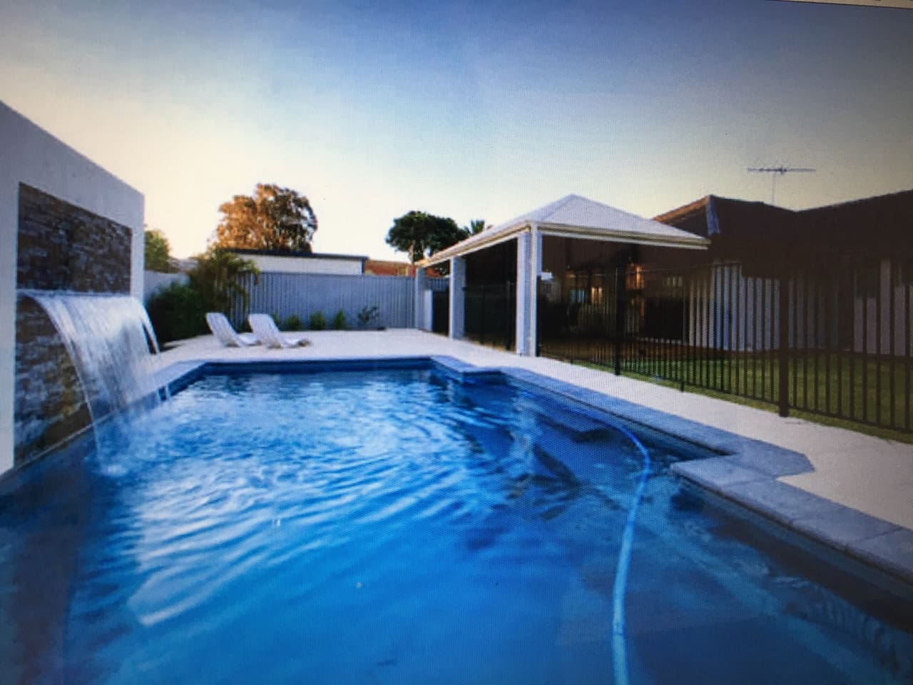 Relax in the large pool or enjoy a BBQ alfresco style while watching the kids.