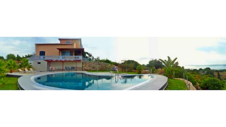 Melissa Luxury Villa Suites with pool an4 sea view