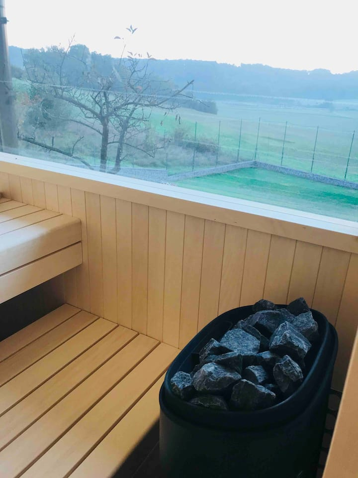 Kuća za odmor Bubamara. Bazen,sauna ,jacuzzi..
