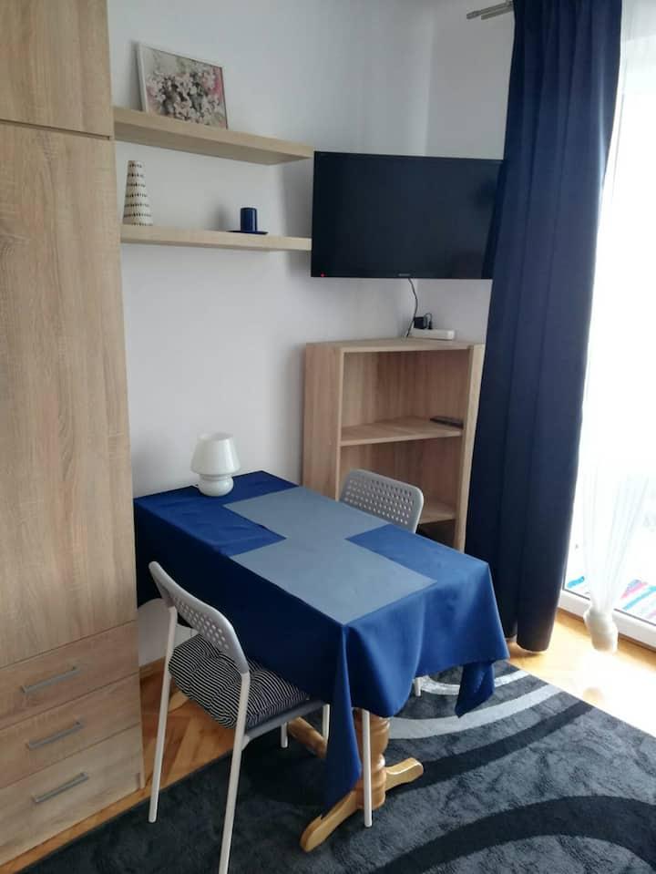 Mieszkanie typu studio w centrum Radomia