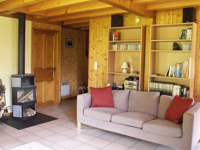 Chalet in a quiet area