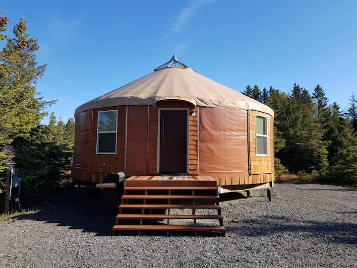 Seaside Yurt