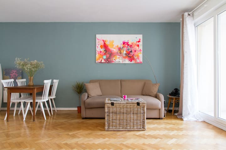 Lovely studio 5mn from PARIS La Villette - Le Pré-Saint-Gervais - Apartment