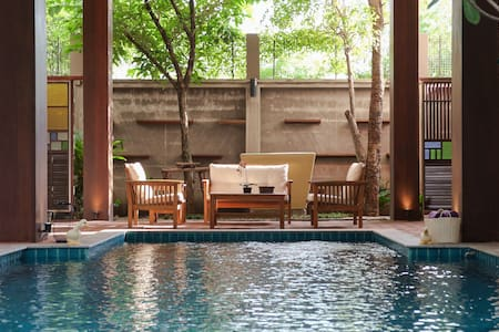 Modern Thai Style Private PoolVilla - Bangkok