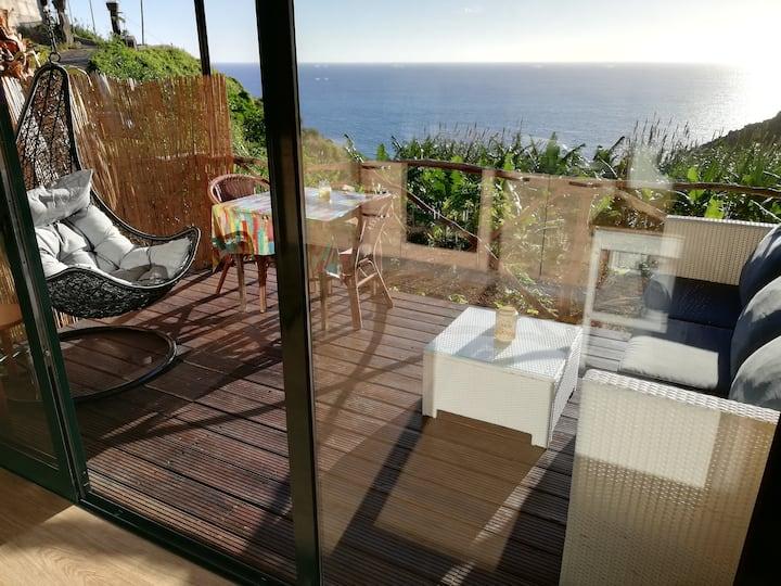"""Cabana Papaya"" South Coast, Madeira Island."
