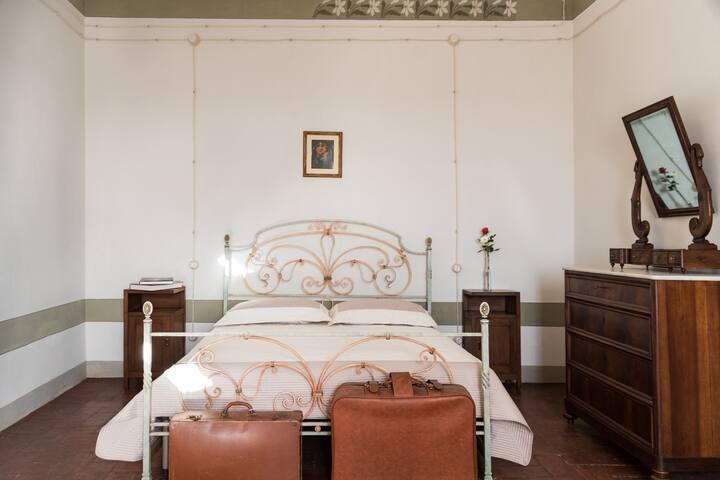 Suite romantica in palazzo storico con vista