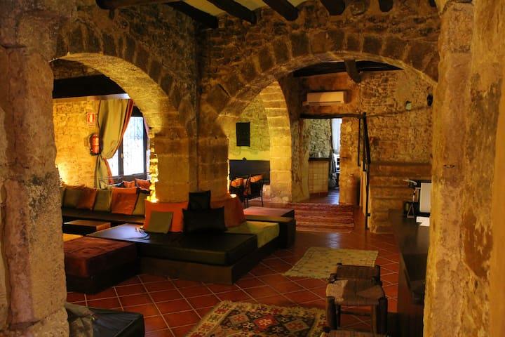 Pequeño y   encantador hotel Rural - Peralta - Wikt i opierunek