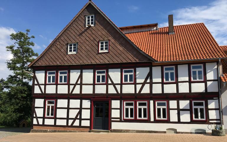 Wohnen im Mühlengebäude (komplettes Haus). - Dassel - Guesthouse