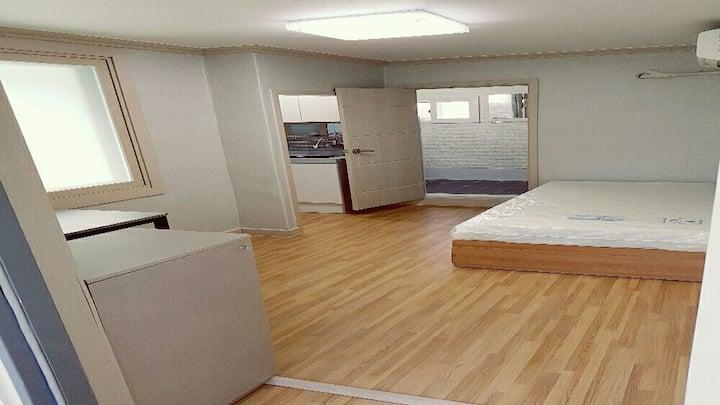대구경북대학교북문로데오중심가 깨끗한 원룸형숙소