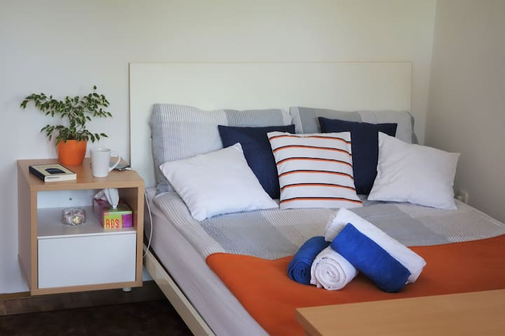 Snugly Couples or Comfy Singles - Book Now :) - Ljubljana - Apartment