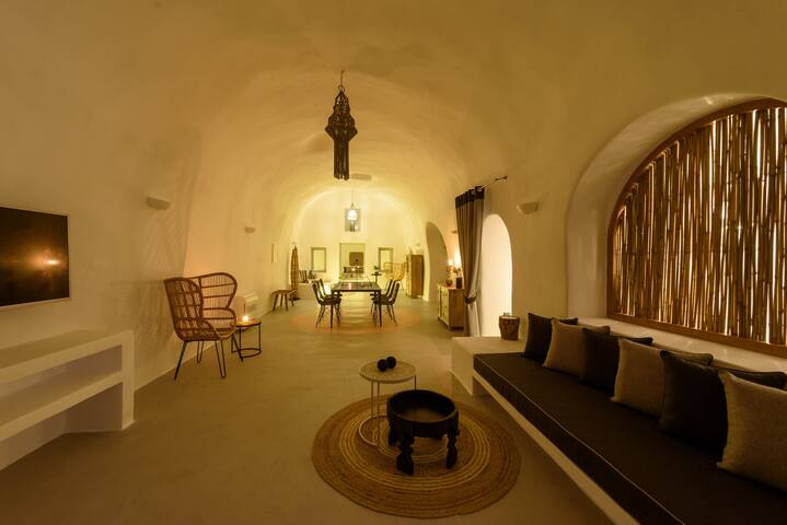 Adele villa living room