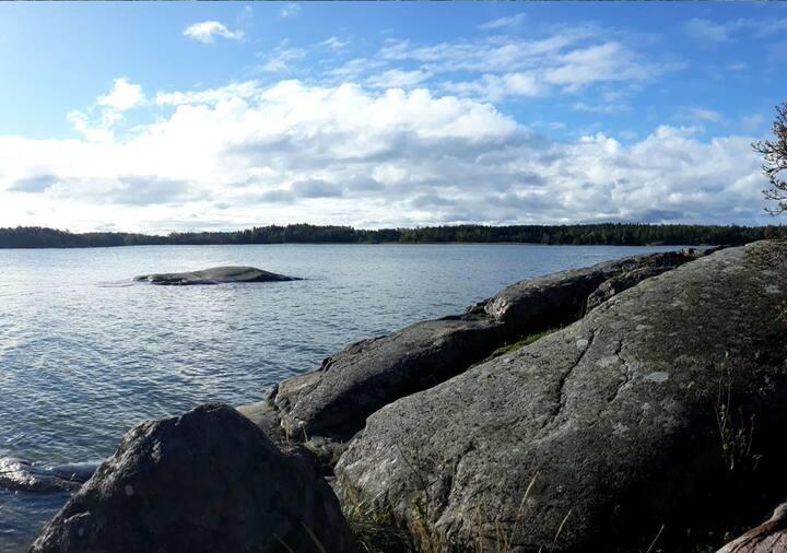 Traditional Finnish Summer Cottage Strandbo