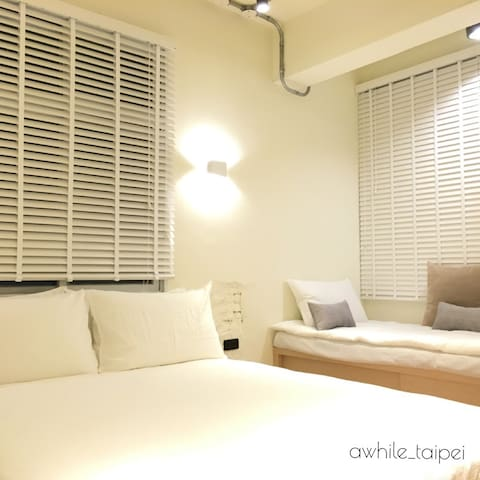 AwhileTaipei - wood - Zhonghe District - Apartment