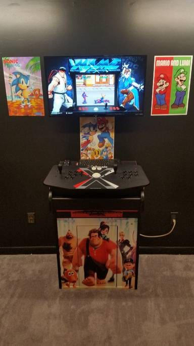 Arcade system with 30k games you name it any arcade game or home system game it has it