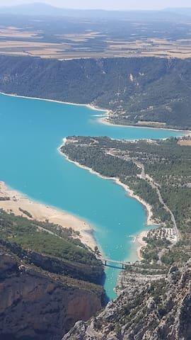 Lac de Sainte-Croix 35 km