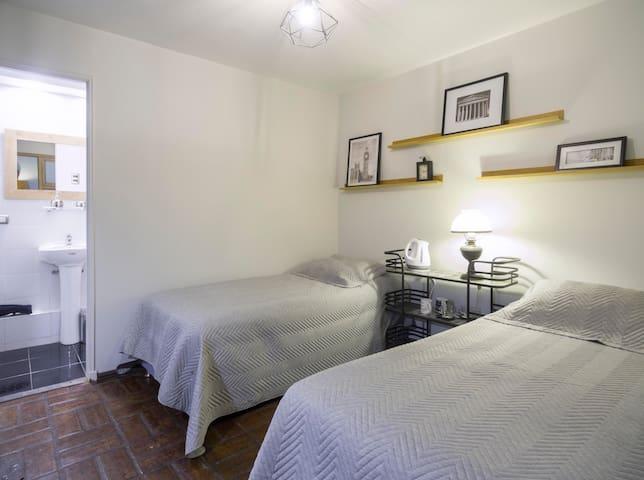 Linda habitación privada ,baño suite,ful ubicada