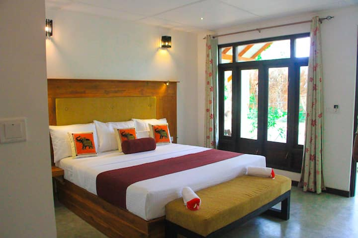Triple Room-Nature View Sigiriya | Rock Side Hotel