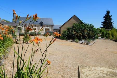A fabulous house overlooking a pool - Dissé-sous-le-Lude - 一軒家