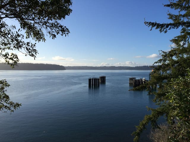 Sunny View Cottage on Clam Cove - Vashon - Dom