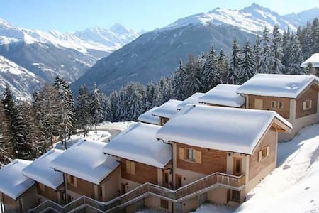 Chalet, Ski in/out, 12 Pers, Sauna - Vex - Casa