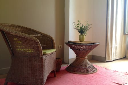 Chambre Yvon, vue sur le jardin - Yerres