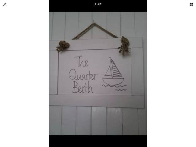 The Quarter Berth. Stylish apartment with parking. - Torquay - Lägenhet