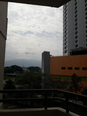 view of Doi Suthep mountain from balcony