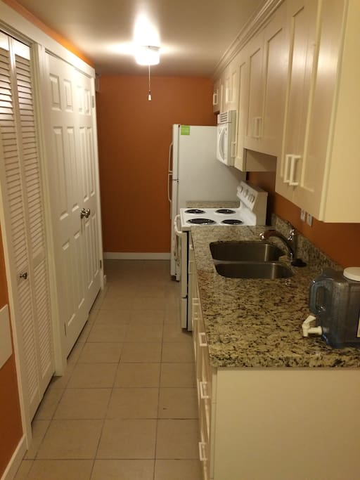 Kitchen and Laundry Room