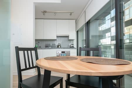 Modern High Rise 1 Bedroom Condo in Downtown