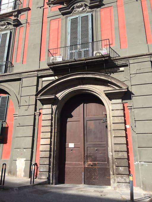Ingresso Palazzo Solimena
