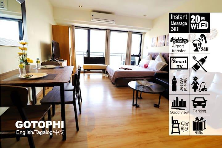 Gotophi luxurious hotel Knightsbridge Makati 3816
