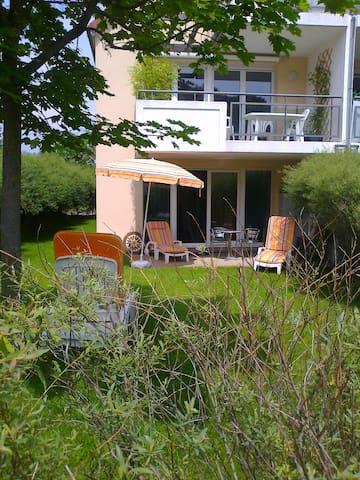 appart 3 pièces 67 m2 rez de jardin - Wintzenheim - Daire