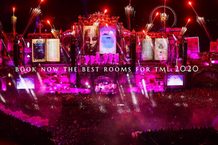 Nice Room only  50 meters from Tomorrowland