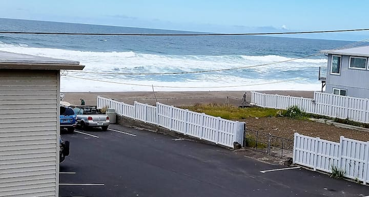 Ocean View Nautical Notions steps from the beach!