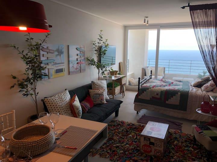 Apartamento 162 Reñaca Mar Vista
