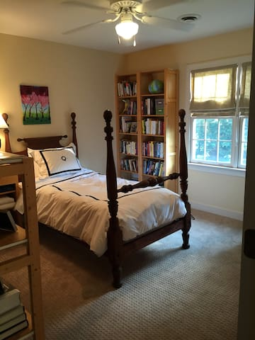 Bedroom in single family home