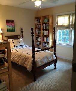 Bedroom in single family home