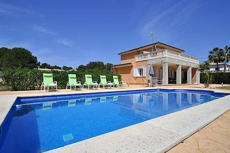 Villa for 8 people with pool in Cala Pi - Vallgornera