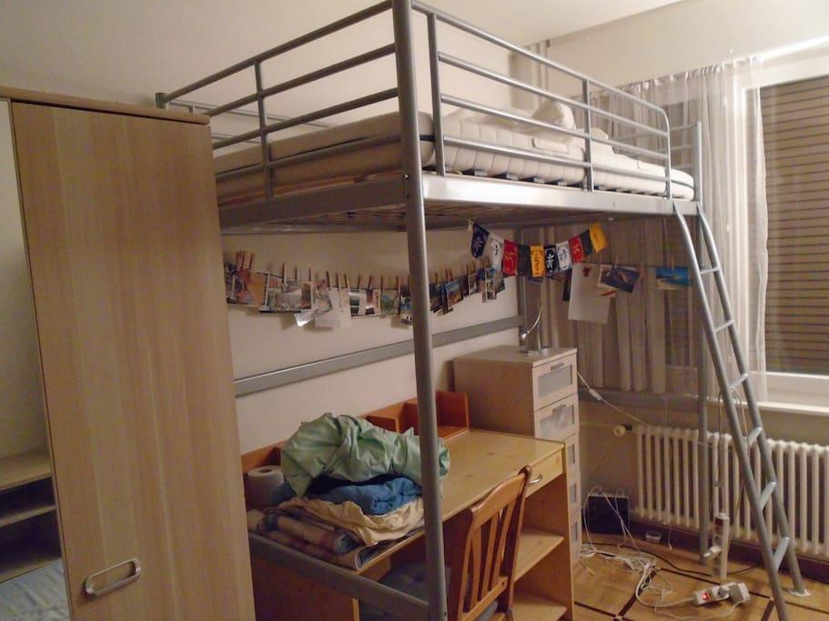 Chambre servette appartements louer gen ve gen ve for Appartement meuble a louer geneve