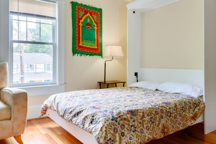 Murphy bed next to UNC & downtown Chapel Hill - Chapel Hill - House
