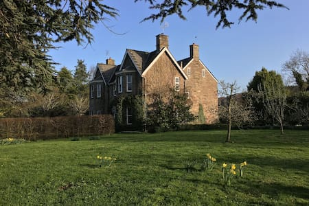 Rural rectory retreat - Herefordshire - 家庭式旅館