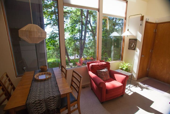 Cozy Treehouse Overlooking U of O - Eugene - Apartment