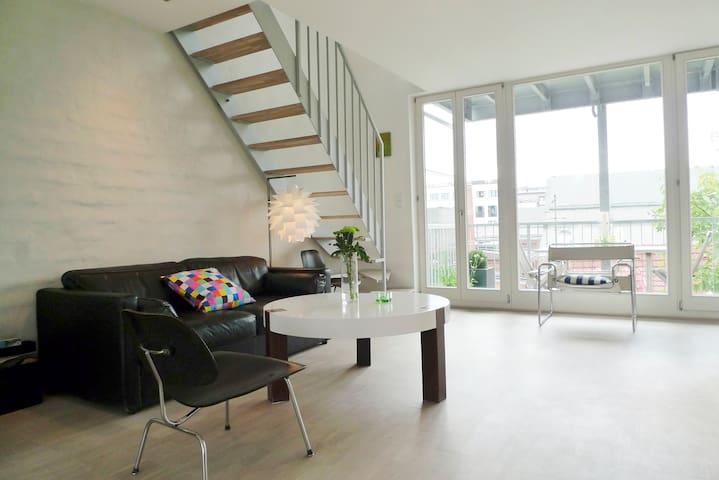 Perfect style loft, supercentral. - Hamburg - Loft