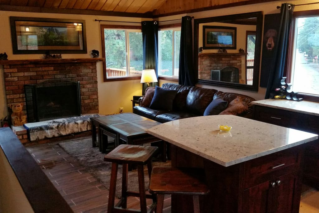 Open floor plan (Upstairs Living Room)