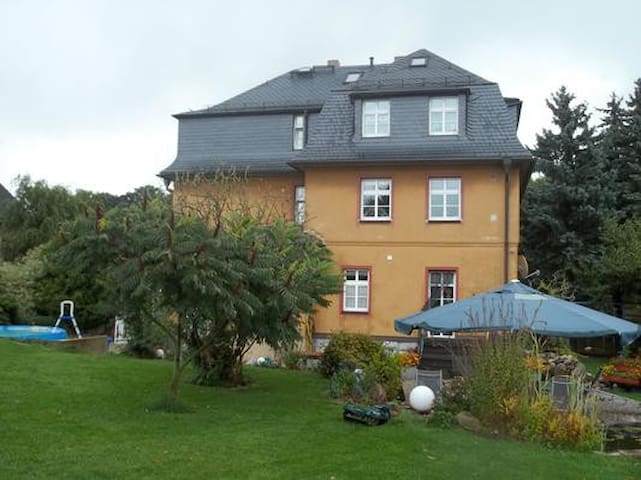 Top apartment in the Ore Mountains