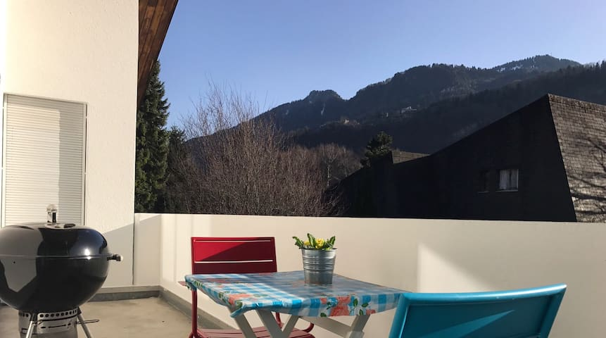 New hip apartment in Bad Ragaz - Bad Ragaz - Apartment