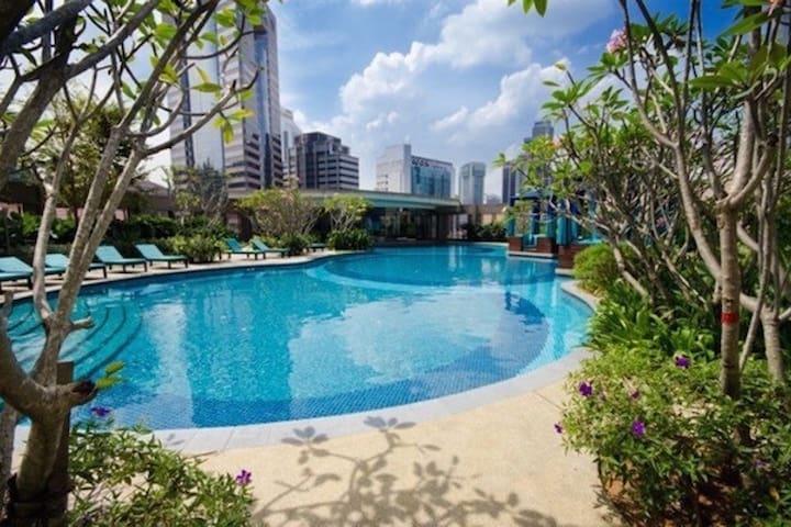 Cozy Room at CapSquare Near Bukit Bintang - Kuala Lumpur - Apartment