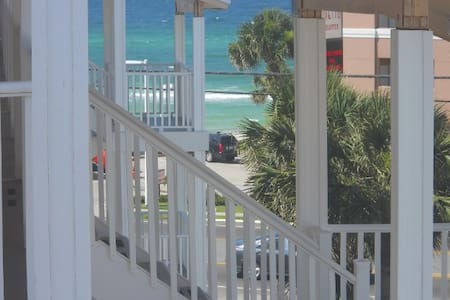 Ocean View and steps to the beach!