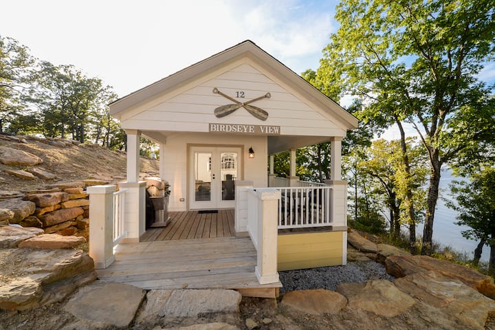 Birds Eye View Cottage Overlooking Skiatook Lake