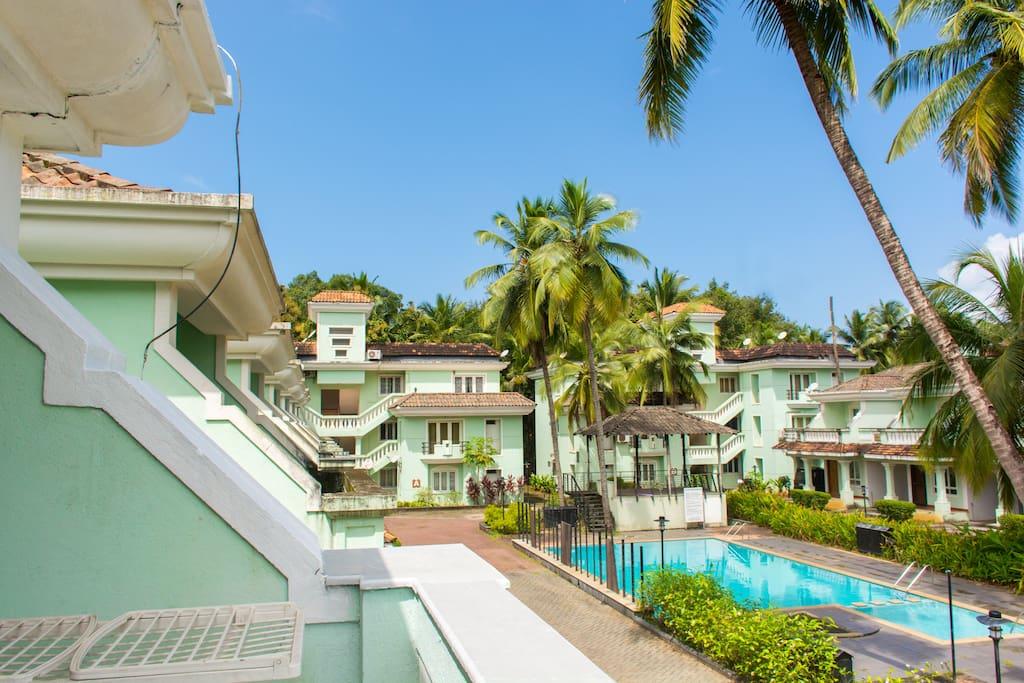 Villa 6 Zen Gardens Villas For Rent In Goa Goa India
